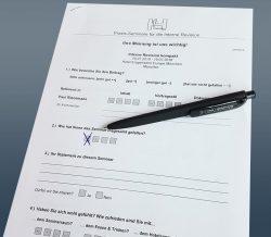 Fragebogen für Teilnehmer unserer Seminare